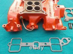 1957 ford y block 312 4v intake manifold with gaskets