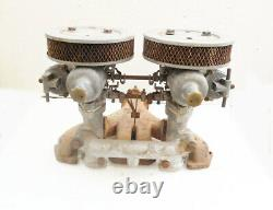 1962 1964 Triumph Spitfire Intake & Exhaust Manifolds, Su. Carbs & Air Cleaners
