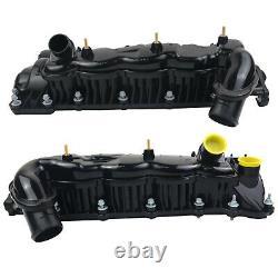 2 PCS Inlet Manifold Rocker Cover For Land Rover Range & Rover Sport 3.6 TDV8