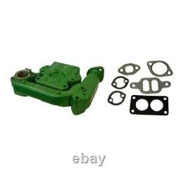 2 pc Intake & Exhaust Manifold with Gaskets Fits John Deere Tractor Model 50