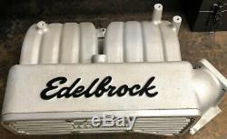 351 Winsor Ford Edelbrock Performer Intake Manifold 3881 Gasket Matched F-150