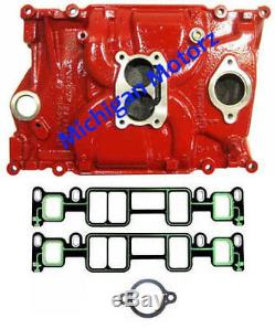 4.3L Volvo Penta Intake Manifold (1996-Later) with Intake Gaskets 3855805 RED