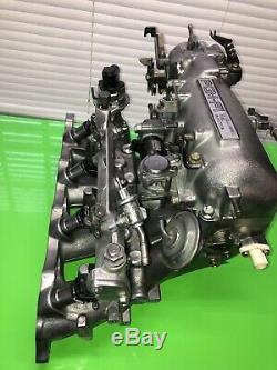 92-96 Honda Prelude 2.3L H23 COMPLETE & POLISHED Intake Manifold + NEW Gaskets