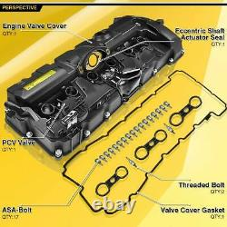 A-Premium Engine Valve Cover & Gasket for BMW E82 E87 E90 E70 Z4 X3 X5 125i 330i