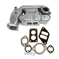 A4640R A5751R Intake & Exhaust Manifold with Gaskets Fits John Deere Tractor 60