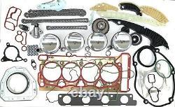 Audi VW 1,8TFSI Motorsatz Überholungskit Dichtsatz Reparatursatz CDA BZB Rep. Kit