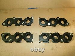 BMW E32 E38 750i 750iL 2 Pair of Inlet Manifold Gasket Flanges Parts 1736656,657