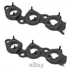 BMW E38 E32 E31 850i Set x2 Intake Gasket Intake Manifold Blocks Genuine NEW