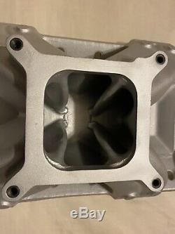CNC PORTED 2925 EDELBROCK SUPER VICTOR SBC INTAKE MANIFOLD With GASKETS
