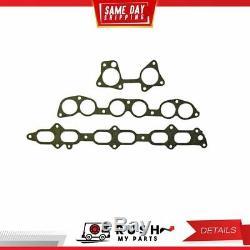 DNJ IG942 Intake Manifold Gasket For 86-92 Toyota Supra 3.0L L6 DOHC 24v