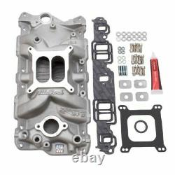 Edelbrock 2040 Performer EPS Manifold Install Kit with Gaskets Bolts Studs