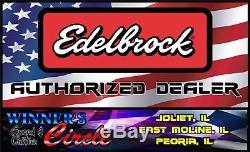 Edelbrock 2131 Perf Intake AMC Jeep 304/360/401 V8 with Free Intake Gaskets