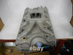 FORD 351W 5.8L HOLLEY STREET DOMINATOR ALUMINUM 4V INTAKE MANIFOLD WithGASKETS