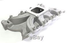 Ford 302-351 Cleveland Torque 2v Intake Manifold + 600cfm Carburetor + Gasket