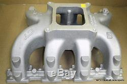 GM 19166950 LSX CT Intake, Tall Deck, 4150 Flange, withGaskets & Bolts, Untouched