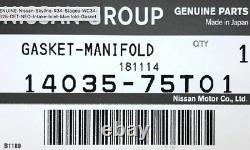 Genuine Nissan Metal Intake / Inlet Manifold Gasket -For R34 Skyline GTT RB25DET
