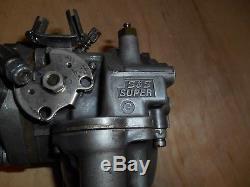 Harley-Davidson S&S Super G shorty carburetor with shovel stroker intake manifold
