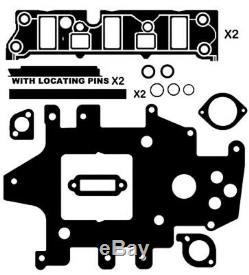 INLET MANIFOLD GASKET KIT SUIT HOLDEN CALAIS VSII VT VX VY 3.8lt SUPERCHARGED V6