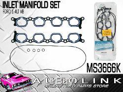 INLET MANIFOLD GASKET SET SUIT FORD FALCON BA BF FG XR8 5.4lt V8 2003 2010