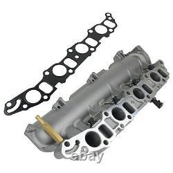 Inlet Intake Manifold & Gasket Fit Vauxhall Astra H Vectra C Alfa Fiat Saab 1.9