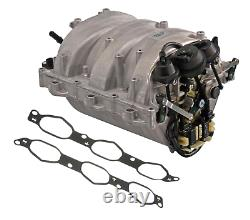 Intake Manifold Assembly with Gaskets PIERBURG OEM for Mercedes M272 Engine