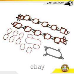 Intake Manifold Gasket Set Fits 01-16 Ford E-350 Club Wagon 6.8L SOHC 20v