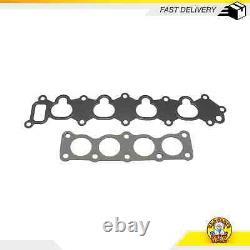 Intake Manifold Gasket Set Fits 92-01 Chevrolet Geo Esteem Metro 1.3L SOHC 16v