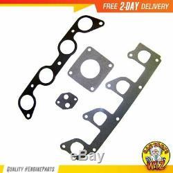 Intake Manifold Gasket Set Fits 95-01 Ford Mazda B2300 B2500 2.3L L4 SOHC 8v