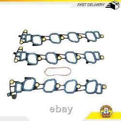 Intake Manifold Gasket Set Fits 99-09 Ford E-150 E-150 Club Wagon 5.4L SOHC 16v