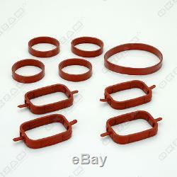 Intake Swirl Flap Gasket Intake Manifold 4 Cylinder For Bmw 3 Series New