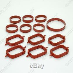 Intake Swirl Flap Gasket Intake Manifold 6 Cylinder For Opel / Land Rover