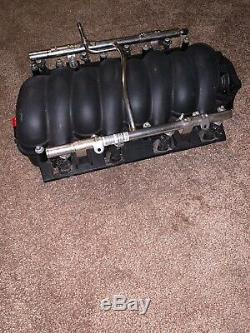 LS2 Intake Manifold With Fuel Injectors, Rails, Gaskets, Bolts GTO GM # 12589181