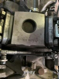 Land Rover 3.5L V8 twin carburettor inlet manifold And Gaskets, Genuine 14 Miles