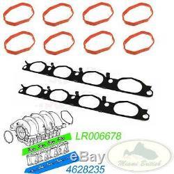 Land Rover Inlet Manifold Gasket Set Lr3 Lr4 Rr Sport Lr006678 4628235 Oem