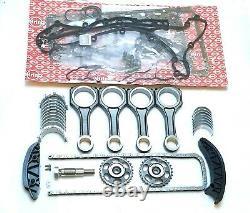 Mercedes 2.2 Om651 Engine Repair Set Of Gasket Timing Chain Bearings