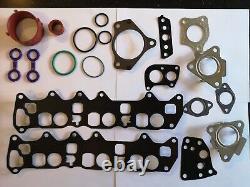 Mercedes Om642 New Oil Cooler / Seals Intake Manifold Gasket Kit + Swirl Bypass