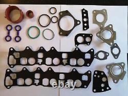 Mercedes Om642 Oil Cooler Repair Kit Intake Manifolds Gasket Kit + Exhaust Bolts