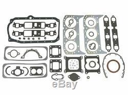 Mercury MerCruiser 27-11977A88 4.3L 262 CI Intake Manifold Gasket Set 18-4388