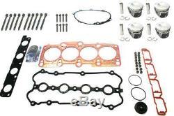 NEU Reparatur Kit mit Kolbensatz ÜM (83,01 mm) VW Audi Seat Skoda 2.0 TFSI AXX