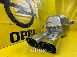 New Exhaust End Silencer Vauxhall Calibra 2,0 4x4 C20LET 204PS Rear Pipe