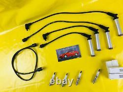 New + Original Vauxhall Calibra Vectra A C20NE 20NE Leads Ignition Bosch + Plugs