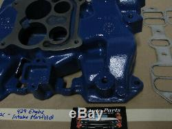 OEM 67 Cadillac DeVille 429 Engine INTAKE MANIFOLD WITH NEW GASKET
