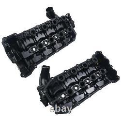 Pair LH+RH Inlet Manifold Rocker Cover for Range Rover Sport L322 MK3 3.6TDV8
