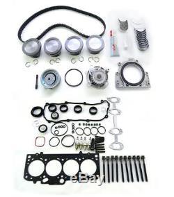 Reparatur kit für VW Audi Seat Skoda 1.6 8V mit Kolben, Zahnriemen, Lager etc