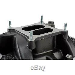 Speedway 1957-86 SBC Hi-Rise Intake Manifold with Gaskets, Hardware