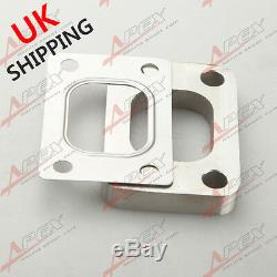 T25 T28 T304 SS Turbo Manifold Turbo Charger Inlet Flange + T304 SS Gasket UK