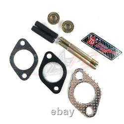 TAIDA GY6 CYLINDER HEAD 8mm EXHAUST BOLTS / INTAKE MANIFOLD GASKET KIT