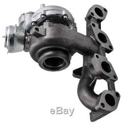 Turbo with exhaust manifold for Audi A3 140 BHP, 103 kW 2.0TDI BKD Convertible