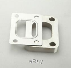 UK T25 T28 GT25 T304 SS Turbo Inlet Manifold Flange + T28 SS Gasket