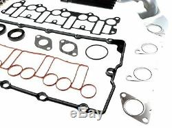 Zylinderkopfdichtung Satz + Kopfschrauben AUDI SEAT SKODA VW 2.0 TDI 3 Loch